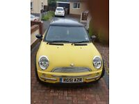 51 plate mini cooper 1.6 petrol. Clutch needs attention.