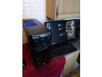 water cooled hex core 4.9 ghz per core animal gaming pc bargain
