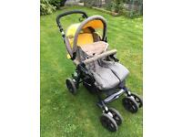 Jane Nomad' Pushchair. Inc accessories (2 rain covers and cozy toes)