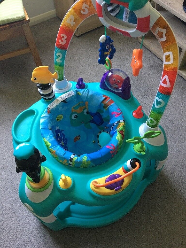 92436d15f94b Baby Einstein Rhythm of The Reef Activity Saucer