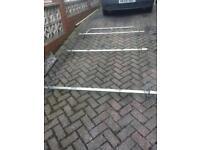 Renault master vauxhall movano heavy duty roof rack including door protector