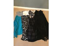 Mixed bag size 14 clothes