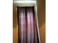 Tenement length curtains (118 inch drop)