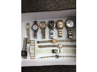 Selection of Men's & Ladies Watches, Different Sizes & Makes
