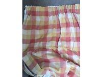 Lura Ashley curtains one pair