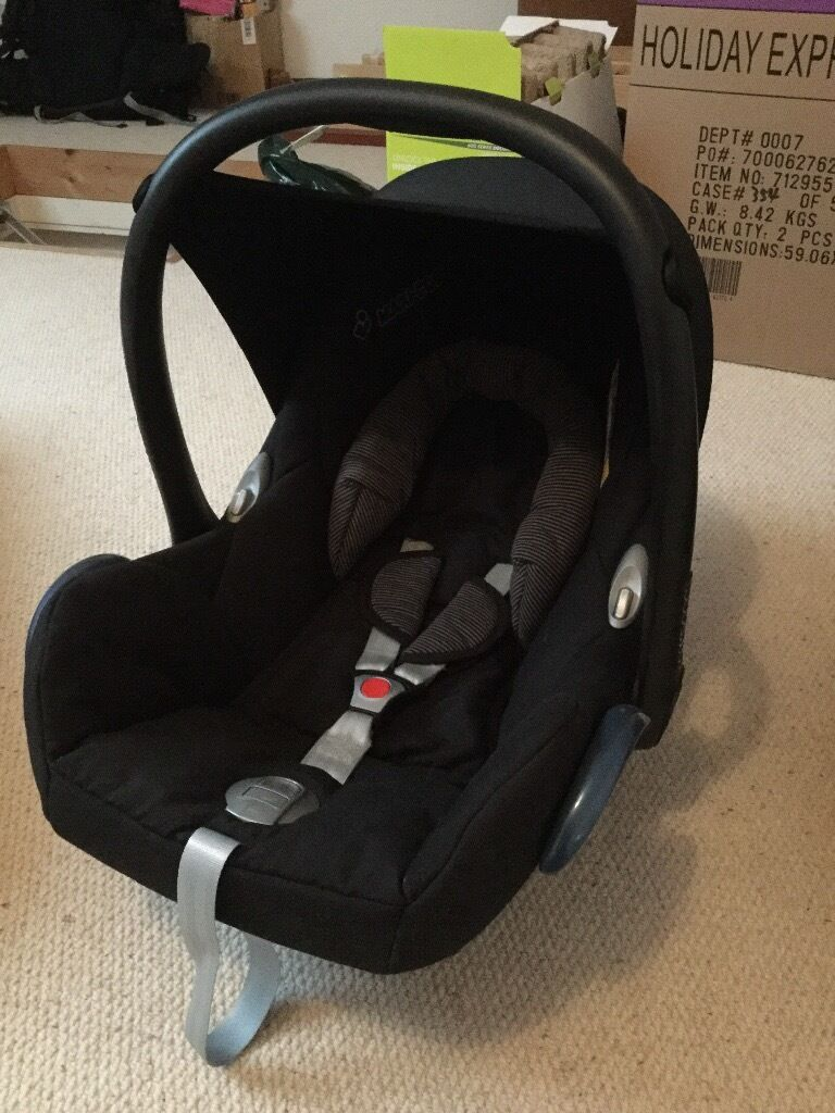 maxi cosi car seat isofix in lancing west sussex gumtree. Black Bedroom Furniture Sets. Home Design Ideas