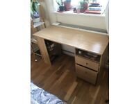 Wooden Desk In Good Condition