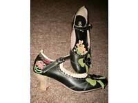 Size 3 (36) cute black heels