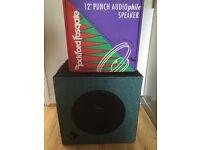 """Rockford Fosgate 12"""" Punch Audio Bass Subwoofer speaker, Model RFA-124"""