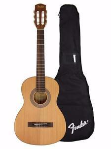 Guitare classique 3/4 Nylon avec soft case Fender MC1 *neuve  0963000021