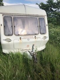 Cheap caravan for restoration