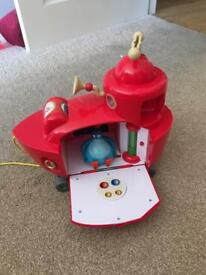 Fully working lights and sounds twirlywoos boat