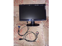 LG FLATRON W19435SB PC MONITOR WITH SPEAKERS