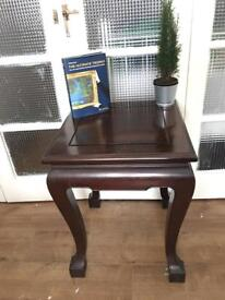 CHINESE SOLID WOOD TABLE SIDETABLE FREE DELIVERY LDN🇬🇧