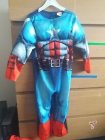 Kids Captain America 4-5yrs