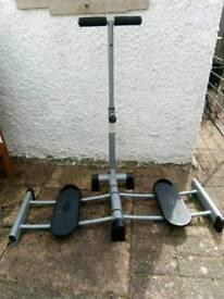 Excercise leg trainer