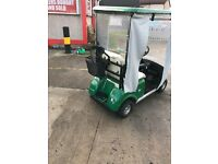 Golf Buggy electric as new single seater