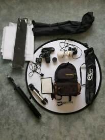 Nikon D60 DSLR Huge kit