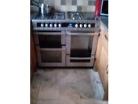 Dual fuel 100ml double oven