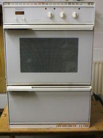 Hotpoint de luxe double oven 6171