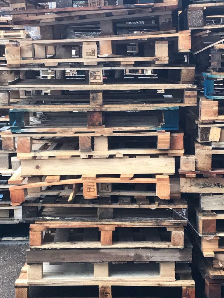 Scrap Wood Pallets Good Stripping Fences Garden Projects Fire