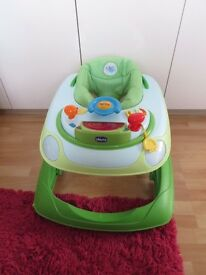 Chicco Juvenile Band Baby Walker Green Wave - Used in excellent condition