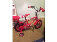 Kids firechief pedal bike
