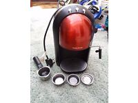 Morphy Richards Accents red coffee maker
