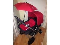 Bugaboo Cameleon 2 in Coral Red