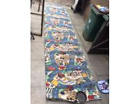 off cut of kids carpet long piece- ideal for play house or small bedroom