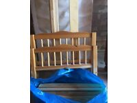 Toddlers pine bed for sale