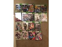 Xbox 360 game bundle - disney,lego, COD etc