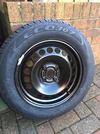 "Fiat Punto 15"" spare wheel"