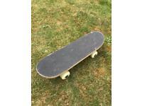 Small skateboard & helmet