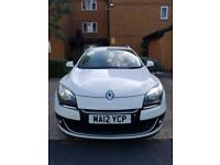 Renault Megane 2012 excellent condition, low mileage, extremely fuel efficient, £20 road tax/year