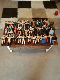WWE figures and accessories