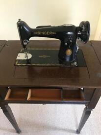 Lovely Singer Seeing machine and table