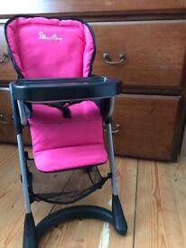 Silver cross high chair