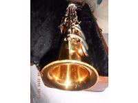 Earlham Soprano Saxophone + Hard Case + Gig Bag + Yamaha SS7c Mouthpiece