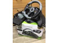 Microcon Racing Wheel and Pedals for Xbox 360