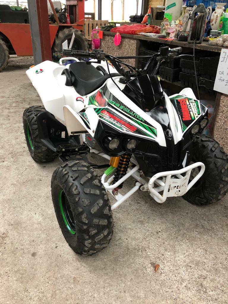 Mega raptor 150cc quad bike | in St Columb, Cornwall | Gumtree