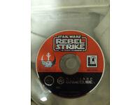 nintendo gamecube game retro vintage star wars rebel strike rouge squadron 3 £5