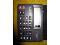 Pocket calculator Casio
