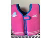 Zoggs bobin swim jacket pink - NEVER USED