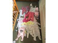 0-3 girls baby bundle