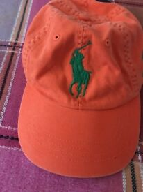 Ralph Lauren's Brand new cap in orange colour