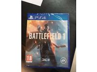 BATTLEFIELD 1 PS4 GAME NEW & SEALED £25 CHEAPEST ANYWHERE
