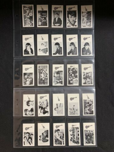Goodies limited Monkees Cigarette cards First series of 25
