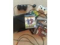 PS3 for sale, great condition, with FIFA 15, FIFA Street and NBA 2K 14 games