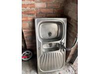 Kitchen Sink. Stainless steel